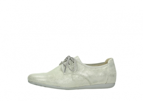 wolky lace up shoes 00112 stuart 20120 off white silver printed leather_24