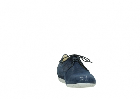 wolky lace up shoes 00112 stuart 20800 blue leather_18