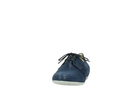wolky lace up shoes 00112 stuart 20800 blue leather_20