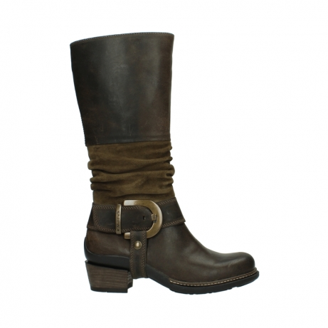 wolky high boots 00481 garda 59151 taupe leather