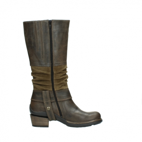 wolky high boots 00481 garda 59151 taupe leather_13