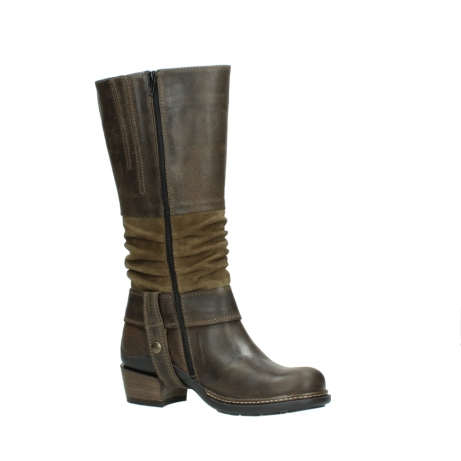 wolky high boots 00481 garda 59151 taupe leather_15