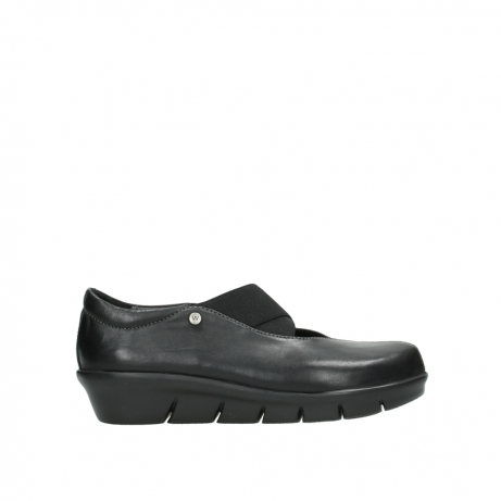 wolky slipons 00665 cursa 50000 black leather