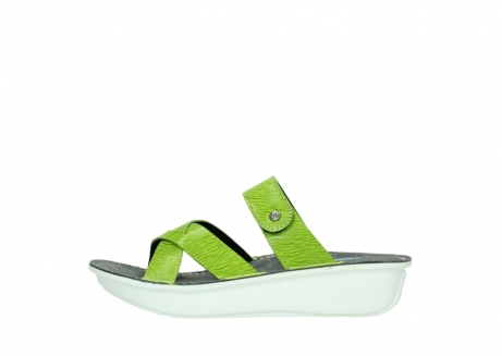 wolky slippers 00878 barbados 70750 lime leather_1