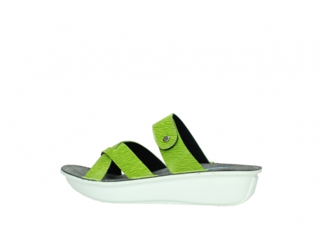 wolky slippers 00878 barbados 70750 lime leather_2