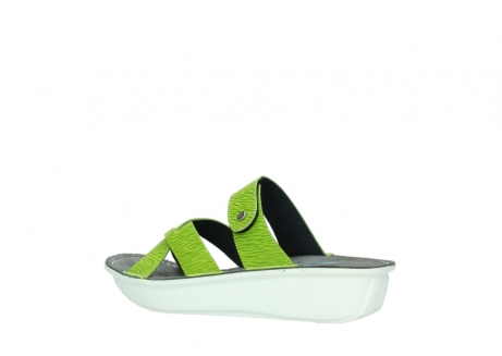 wolky slippers 00878 barbados 70750 lime leather_3