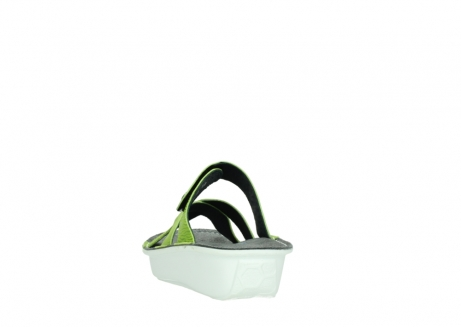 wolky slippers 00878 barbados 70750 lime leather_6