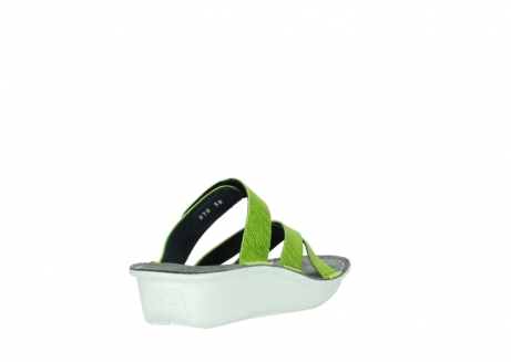 wolky slippers 00878 barbados 70750 lime leather_9