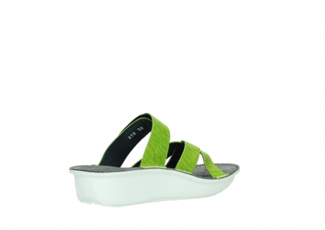 wolky slippers 00878 barbados 70750 lime leather_10