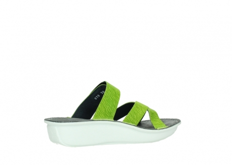 wolky slippers 00878 barbados 70750 lime leather_11