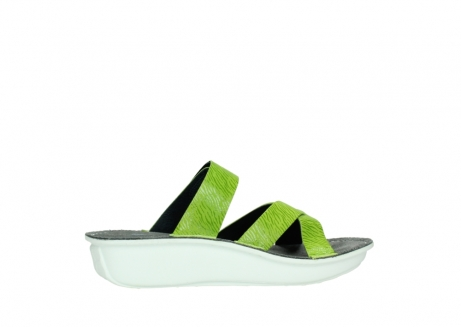 wolky slippers 00878 barbados 70750 lime leather_12