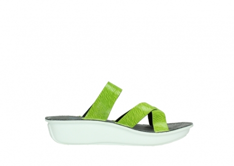 wolky slippers 00878 barbados 70750 lime leather_13