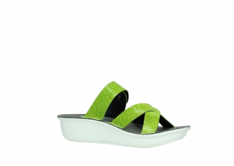 wolky slippers 00878 barbados 70750 lime leather_15