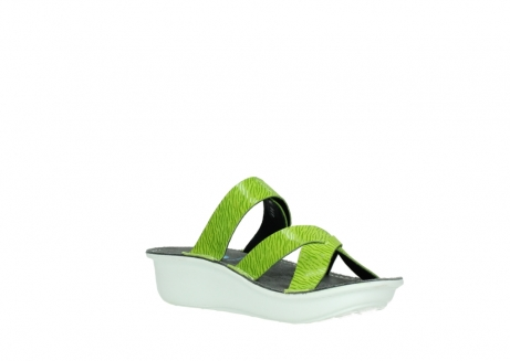 wolky slippers 00878 barbados 70750 lime leather_16