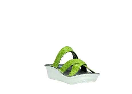 wolky slippers 00878 barbados 70750 lime leather_17