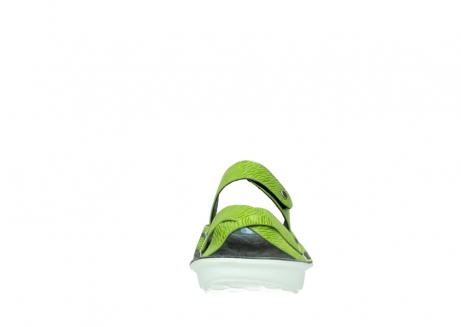 wolky slippers 00878 barbados 70750 lime leather_19