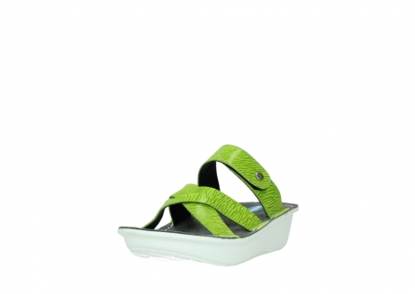 wolky slippers 00878 barbados 70750 lime leather_21