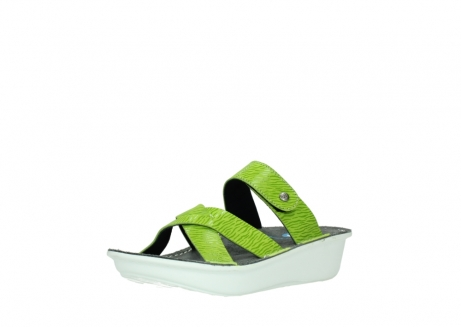 wolky slippers 00878 barbados 70750 lime leather_22