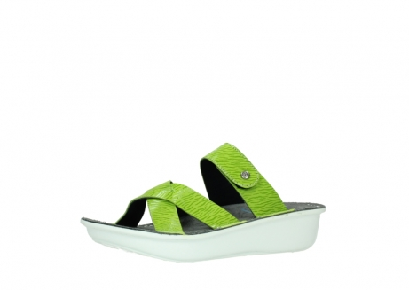wolky slippers 00878 barbados 70750 lime leather_23