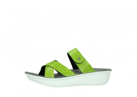 wolky slippers 00878 barbados 70750 lime leather_24