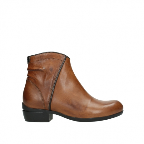 wolky ankle boots 00954 winchester wp 30430 cognac leather