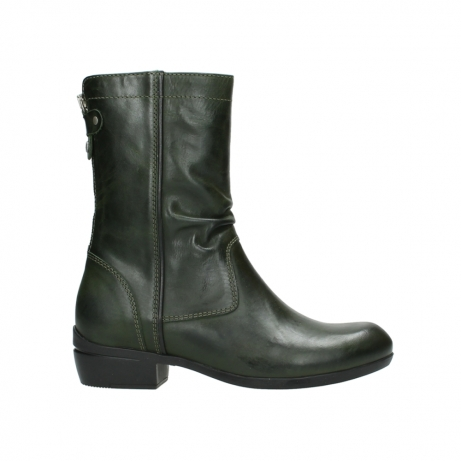 wolky boots 00957 colusa 30730 forest leather