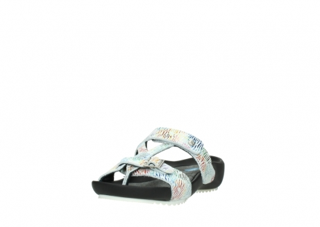 wolky slippers 01002 oleary 70980 white multi nubuck_21
