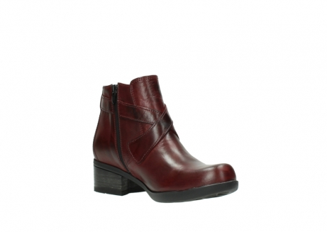wolky ankle boots 01375 vecchio 30512 bordo leather_16