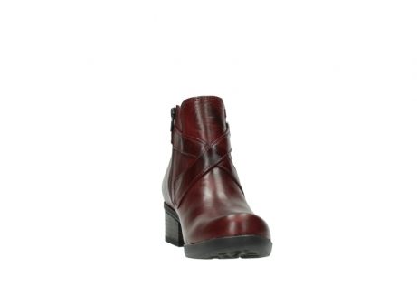 wolky ankle boots 01375 vecchio 30512 bordo leather_18