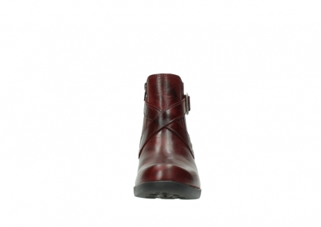 wolky bottines 01375 vecchio 30512 cuir bordeaux_19