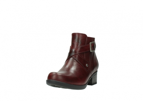 wolky ankle boots 01375 vecchio 30512 bordo leather_21