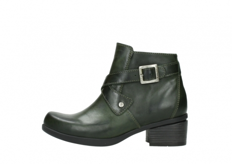 wolky ankle boots 01375 vecchio 30732 forestgreen leather_1