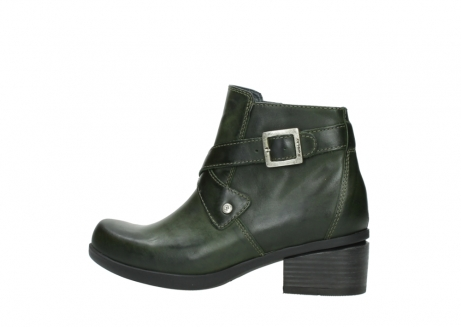 wolky ankle boots 01375 vecchio 30732 forestgreen leather_2