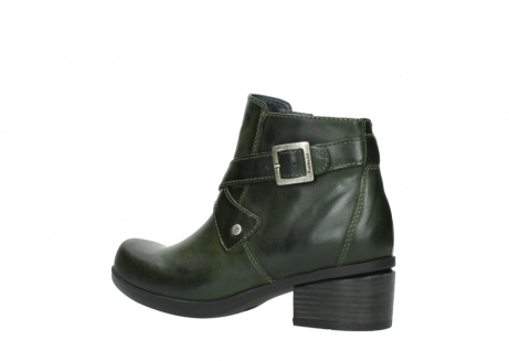 wolky ankle boots 01375 vecchio 30732 forestgreen leather_3