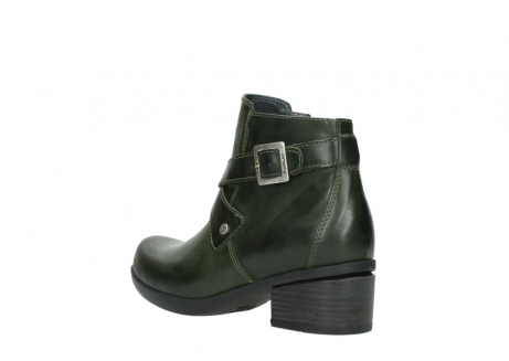 wolky ankle boots 01375 vecchio 30732 forestgreen leather_4