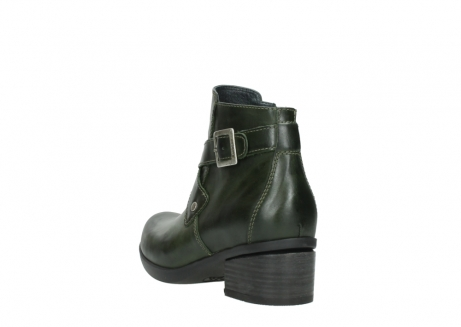 wolky ankle boots 01375 vecchio 30732 forestgreen leather_5
