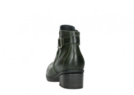 wolky ankle boots 01375 vecchio 30732 forestgreen leather_6