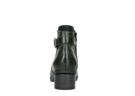 wolky ankle boots 01375 vecchio 30732 forestgreen leather_7