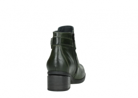 wolky ankle boots 01375 vecchio 30732 forestgreen leather_8