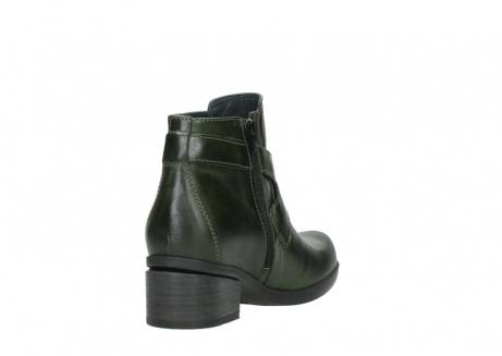 wolky ankle boots 01375 vecchio 30732 forestgreen leather_9