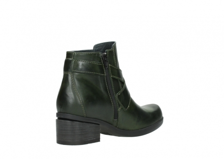 wolky ankle boots 01375 vecchio 30732 forestgreen leather_10