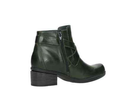 wolky ankle boots 01375 vecchio 30732 forestgreen leather_11