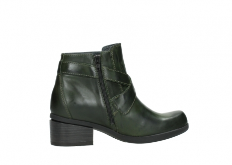 wolky ankle boots 01375 vecchio 30732 forestgreen leather_12