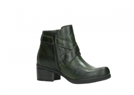 wolky ankle boots 01375 vecchio 30732 forestgreen leather_15