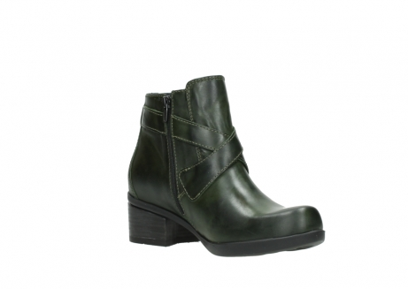 wolky ankle boots 01375 vecchio 30732 forestgreen leather_16