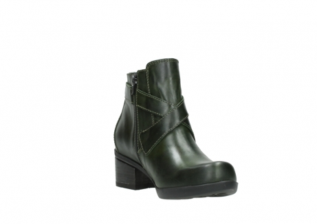 wolky ankle boots 01375 vecchio 30732 forestgreen leather_17