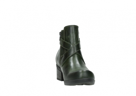 wolky ankle boots 01375 vecchio 30732 forestgreen leather_18