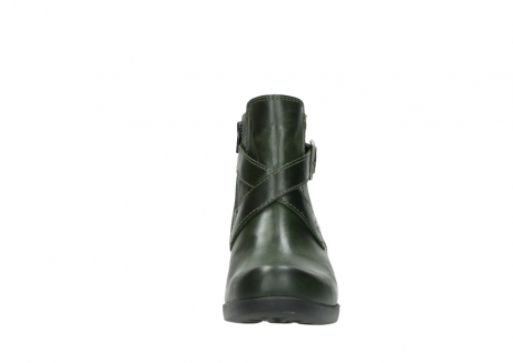 wolky ankle boots 01375 vecchio 30732 forestgreen leather_19