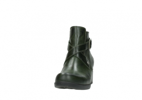 wolky ankle boots 01375 vecchio 30732 forestgreen leather_20