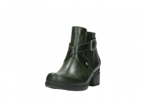 wolky ankle boots 01375 vecchio 30732 forestgreen leather_21